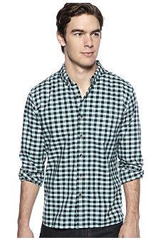 Lucky Brand Del Norte Gingham Check One-Pocket Shirt