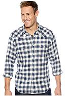 Lucky Brand Classic Plaid Western Shirt