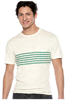 Lucky Brand Chest Stripe Tee