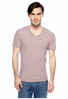 Lucky Brand Striped V-Neck Tee