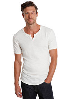 Lucky Brand Slub Notch V-Neck Tee