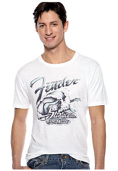 Lucky Brand Fender Surf Graphic Tee