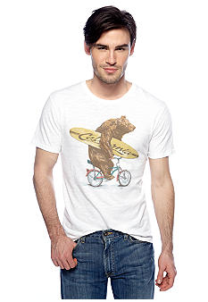 Lucky Brand Bear Cruiser Graphic Tee
