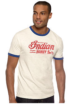 Lucky Brand Indian Scout Ringer Tee