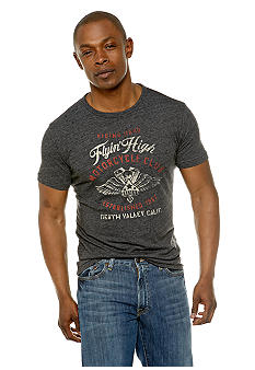 Lucky Brand Flyin High Motorcycle Club Tee