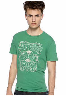 Lucky Brand LB Records Tee