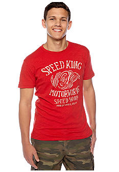 Lucky Brand Speed King Graphic Tee