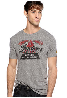 Lucky Brand Indian Moto Parts Tee