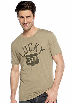 "Lucky Brand ""Lucky 57"" Shield Tee"