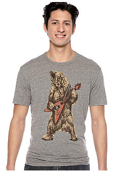 Lucky Brand Rockin Bear Graphic Tee