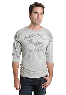 Lucky Brand Indian Baseball Tee
