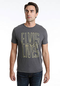 Lucky Brand Elvis Lives Tee