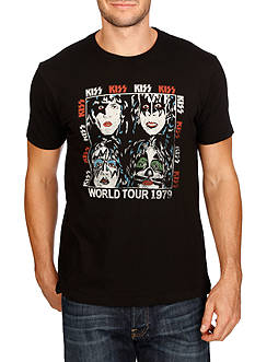 Lucky Brand Kiss World Tour Graphic Tee