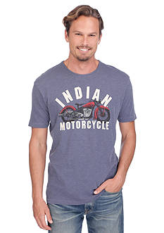 Lucky Brand Indian Motorcycle Graphic Tee