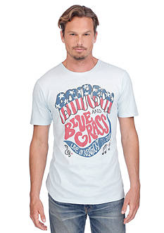 Lucky Brand Short Sleeve Bourbon And Bluegrass Graphic Tee