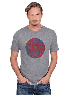 Lucky Brand Short Sleeve Logo Graphic Tee