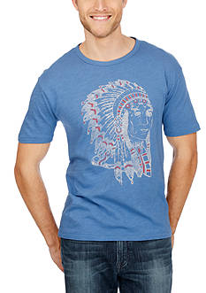 Lucky Brand Indian Head Graphic Tee