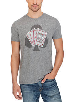 Lucky Brand Ace Beer Graphic Tee