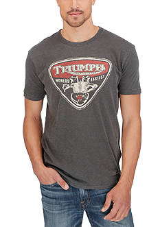 Lucky Brand Triumph Twin Graphic Tee