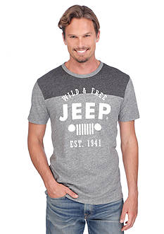 Lucky Brand Short Sleeve Jeep Graphic Tee