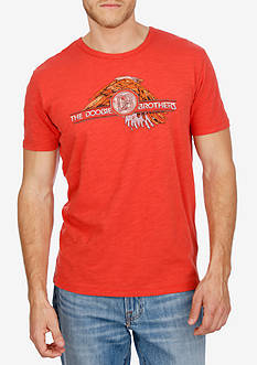 Lucky Brand Short Sleeve Doobie Brothers Graphic Tee
