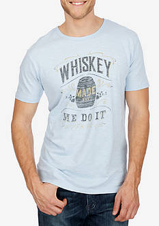 Lucky Brand Short Sleeve Whiskey Graphic Tee
