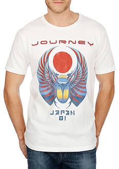 Lucky Brand Journey Scarab Graphic Tee