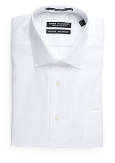 Forsyth of Canada Tailored Fit Non-Iron Herringbone Dress Shirt