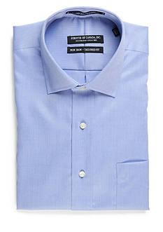 Forsyth of Canada Tailored Fit Non-Iron Herringbone Dress Shirt