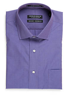 Forsyth of Canada Tailored Fit Non-Iron End-on-End Solid Dress Shirt