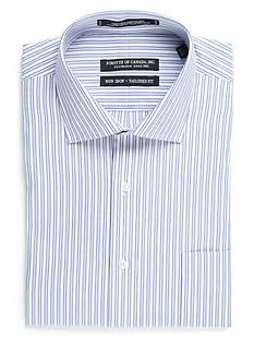 Forsyth of Canada Tailored-Fit Mens Stripe Long Sleeve Dress Shirt