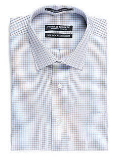 Forsyth of Canada Tailored Fit Non-Iron Grid Check Dress Shirt