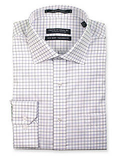 Forsyth of Canada Tailored-Fit Non-Iron Windowpane Dress Shirt