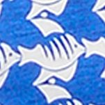 Men's Boxer Briefs: Cobalt Bird Nautica Novelty Print Knit Boxers