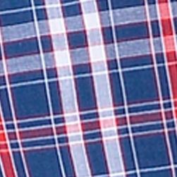 Young Men: Nautica Underwear: Plaid Nautica Novelty Print Woven Boxers