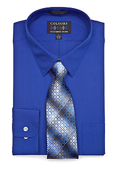 Alexander Julian Boxed Dress Shirt & Tie Set