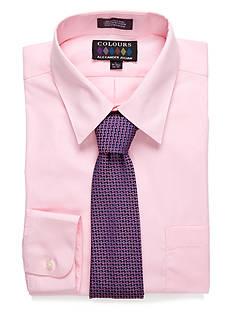 Alexander Julian Dress Shirt & Tie Boxed Set