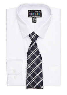 Alexander Julian Dress Shirt & Tie Boxed Set