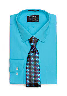 Alexander Julian Regular-Fit Solid Dress Shirt