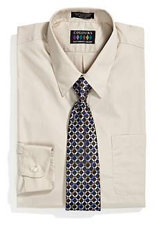 Alexander Julian Boxed Dress Shirt and Tie Set