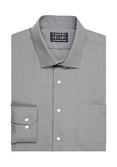 Alexander Julian Big & Tall Stretch Collar Dress Shirt