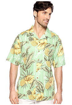 Ocean & Coast Pineapple Print Woven Shirt