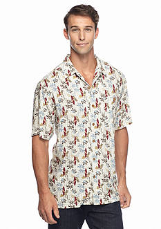 Ocean & Coast Short Sleeve Surf City Woven Shirt