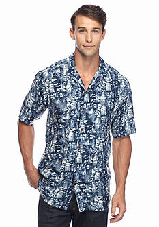 Ocean & Coast Short Sleeve Island Adventure Woven Shirt