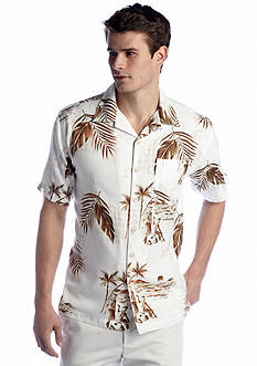 Ocean & Coast™ Tropical Cream Camp Shirt