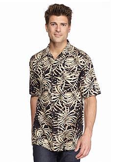 Ocean & Coast Island Breeze Palms Woven Shirt