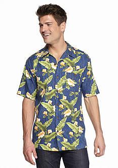 Ocean & Coast Hibiscus Woven Shirt