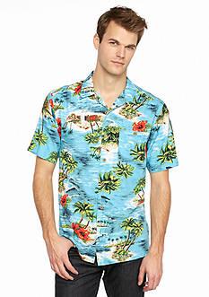 Ocean & Coast Oasis Island Woven Shirt