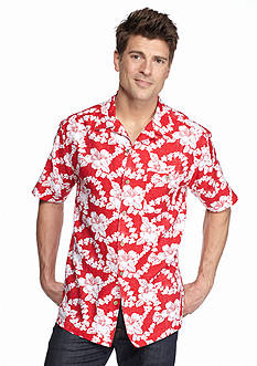 Ocean & Coast Floral Print Woven Shirt