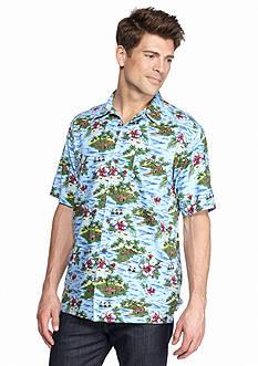Ocean & Coast Hawaiian Print Woven Shirt